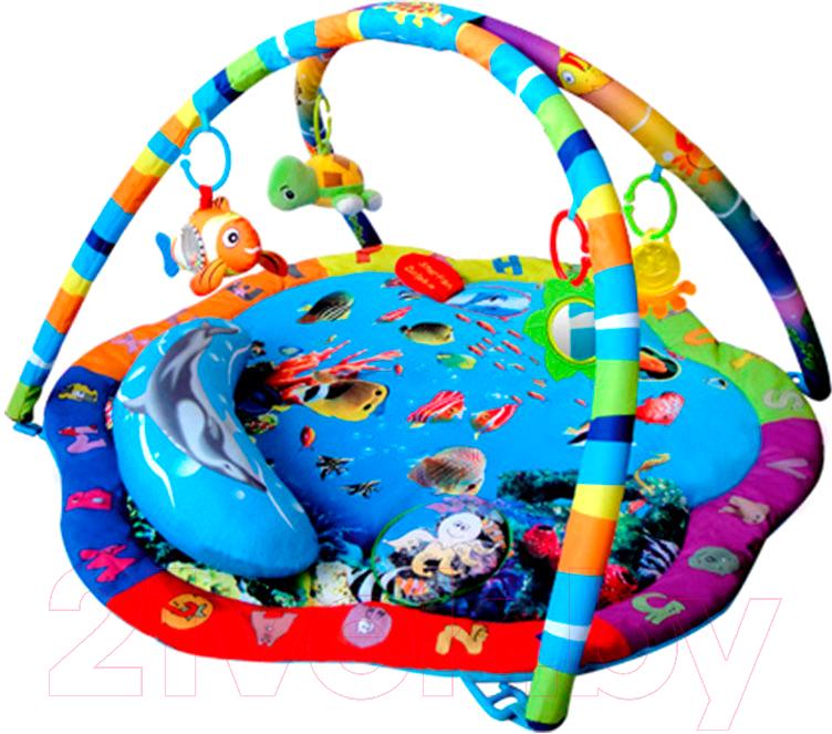 Купить Развивающий коврик La-di-da, Подводный мир PM-T-1-80701, Китай, текстиль