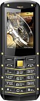 Мобильный телефон Texet TM-520R (черный/желтый) -