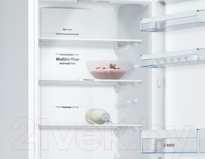 Холодильник с морозильником Bosch KGN36VW2AR