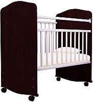 Детская кроватка Агат Золушка 8 (венге/белый) -