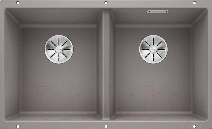 Мойка кухонная Blanco, Subline 350/350-U / 523576, Германия, искусственный гранит  - купить со скидкой