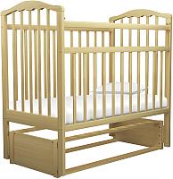 Детская кроватка Агат Золушка 5 (светлый) -
