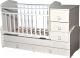 Детская кровать-трансформер Антел Ульяна-1 (белый) -