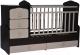 Детская кровать-трансформер Антел Ульяна-1 (венге/клен) -