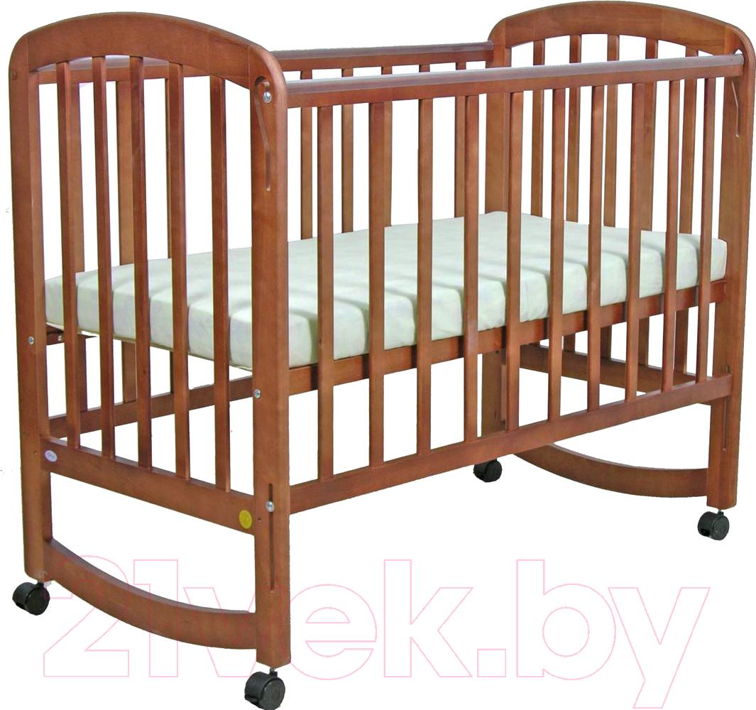 Купить Детская кроватка Фея, 304 (орех), Россия, массив дерева