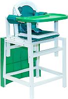 Стульчик для кормления Babys Лягушка (зеленый) -