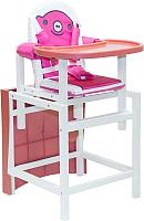 Стульчик для кормления Babys Свинка (розовый) -