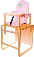 Стульчик для кормления Вилт Бутуз СТД0206 (розовый) -