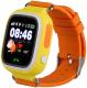 Умные часы детские Smart Baby Watch Q80 (желтый/оранжевый) -