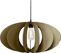 Потолочный светильник Wood Lamp Китайский фонарик СВП5-К (коричневый) -