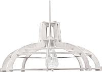 Потолочный светильник Wood Lamp Лофт СВП7-Б (белый) -
