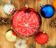 Набор ёлочных игрушек Luazon Снежинка 2123000 (ассорти, 17шт) -