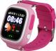 Умные часы детские Smart Baby Watch Q80 (розовый) -