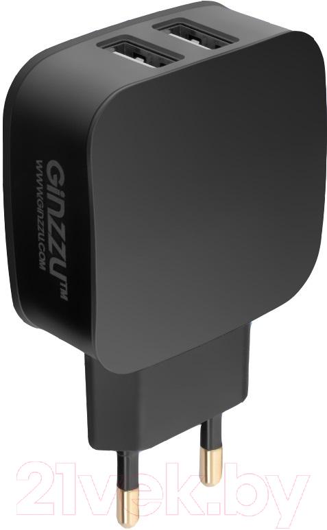 Купить Адаптер питания сетевой Ginzzu, GA-3008B, Китай, черный