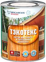 Защитно-декоративный состав Тэкотекс Орех (600г) -