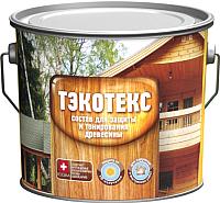 Защитно-декоративный состав Тэкотекс Орех (2.1кг) -