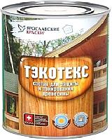 Защитно-декоративный состав Тэкотекс Ясень (600г) -