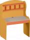 Письменный стол Softform Миа (с надставкой,тыквенный/оранжевый) -