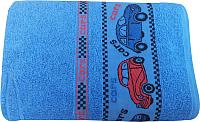 Полотенце Multitekstil M-470 / 7С433-С (синий) -