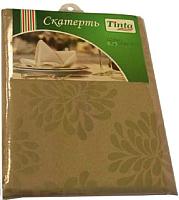 Скатерть Tinta Барбара ТС-1418 140x180 (золото) -