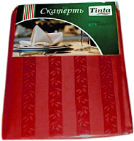 Скатерть Tinta Уильям ТС-1418 140x180 (бордовый) -