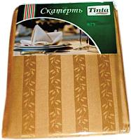 Скатерть Tinta Уильям ТС-1418 140x180 (золото) -