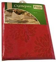Скатерть Tinta Барбара ТС-1422 140x220 (бордо) -