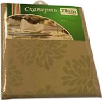 Скатерть Tinta Барбара ТС-1422 140x220 (золото) -