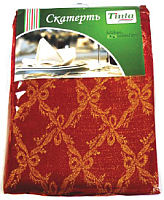 Скатерть Tinta Патрисия ТС-1422 140x220 (красный) -
