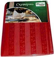 Скатерть Tinta Уильям ТС-1422 140x220 (бордовый) -