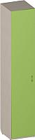 Шкаф-пенал Softform Миа одностворчатый (зеленый лайм) -