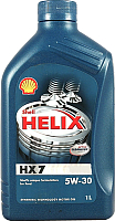 Моторное масло Shell Helix HX7 5W30 (1л) -