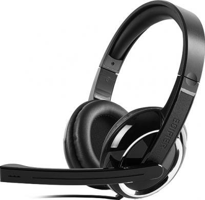 Наушники-гарнитура Edifier K820 (Black) - общий вид