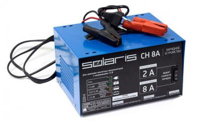Зарядное устройство для аккумулятора Solaris CH 8А - общий вид