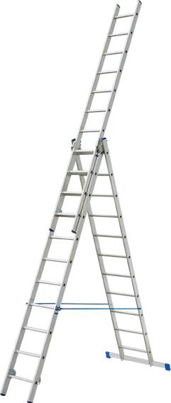 Купить Лестница секционная Elkop, VHRP3x17, Китай, алюминий