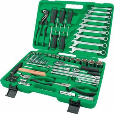 Универсальный набор инструментов Toptul GCAI8002 (80 предметов) - общий вид