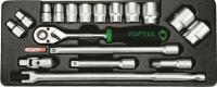 Универсальный набор инструментов Toptul GCAT1801 (18 предметов) -