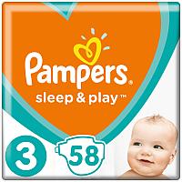 Подгузники Pampers Sleep&Play 3 Midi (58шт) -