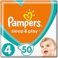 Подгузники Pampers Sleep&Play 4 Maxi Jumbo Pack (50шт) -