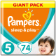 Подгузники Pampers Sleep&Play 5 Junior Giant Pack (74шт) -