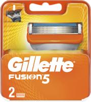 Сменные кассеты Gillette Fusion (2шт) -
