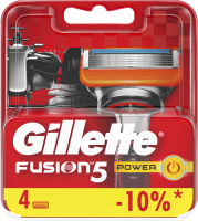 Сменные кассеты Gillette Fusion Power (4шт) -
