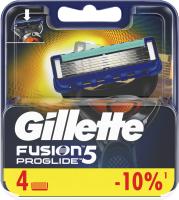 Сменные кассеты Gillette Fusion ProGlide (4шт) -