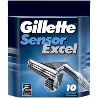 Сменные кассеты Gillette Sensor Excel (10шт) -
