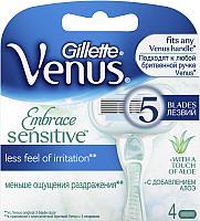 Сменные кассеты Gillette Venus Proskin (для чувствительной кожи, 4шт) -