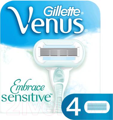 Сменные кассеты Gillette Venus Proskin (для чувствительной кожи, 4шт)