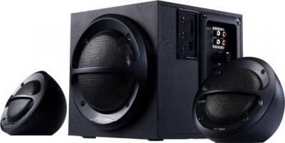 Мультимедиа акустика F&D A-111 (черный) - общий вид