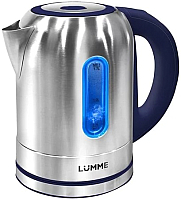 Электрочайник Lumme LU-211 (металлик/темно-синий) -