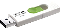 Usb flash накопитель A-data DashDrive UV320 32GB White/Green (AUV320-32G-RWHGN) -