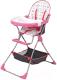 Стульчик для кормления Selby 252 / 0005602-02 (розовый) -